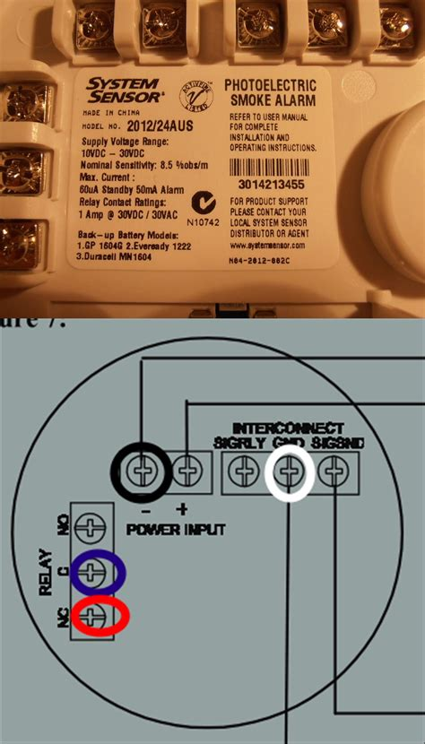 Smoke Detector Electrical Wiring by Electrical Need Help With Correct Wiring When Replacing
