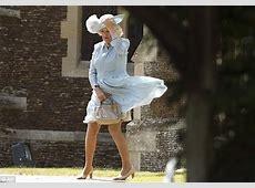 Princess Charlotte's christening witnesses Camilla suffer
