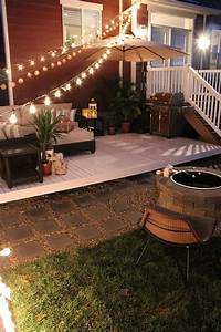 how to build a simple diy deck on budget best backyard With easy diy patio floor ideas