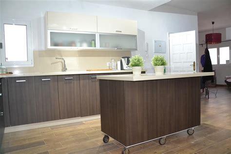 bonita cocina en color wengue cocinas famara muebles de