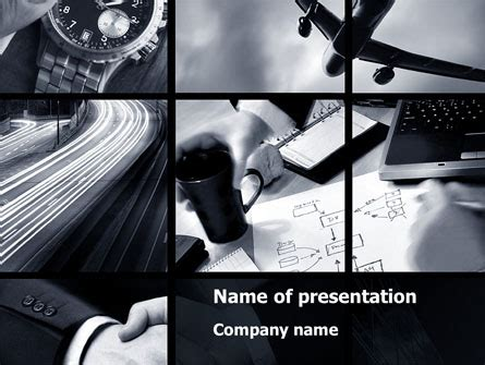 business activity collage  template