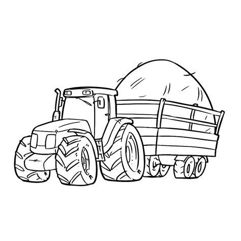 Ford Kleurplaat by Leuk Voor Tractor 0004