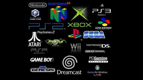 atari black background dreamcast gameboy logos microsoft