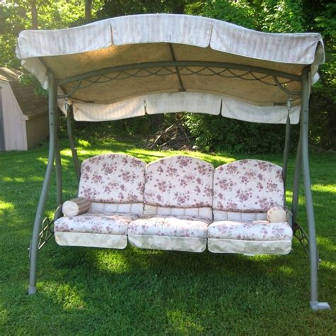 canapé swing patio swing canopy replacement schwep