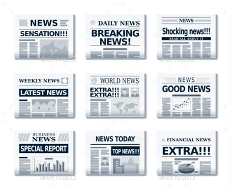 newspaper headline template   word  psd eps documents   premium