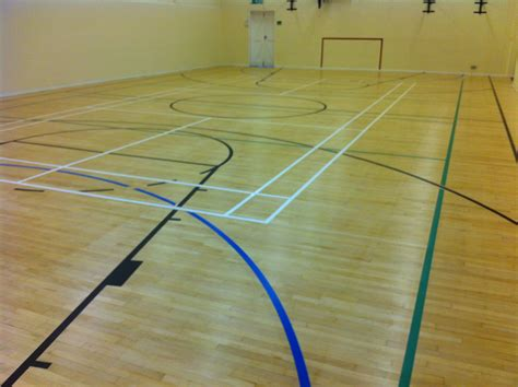 school flooring school sports floor refurbished