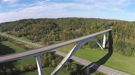 DJI Phantom 2V+ Natchez Trace Parkway Bridge - YouTube