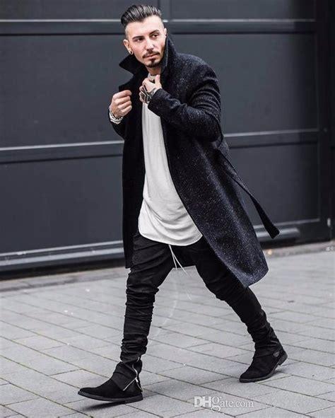 Justin Bieber Style Side Zipper Men Slim Fit Casual