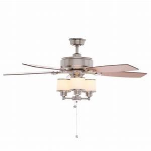 Hampton Bay Waterton Ii Brushed Nickel Ceiling Fan Manual
