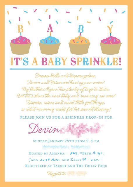 baby shower for second child baby sprinkle instead of a baby shower for a 2nd baby