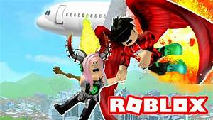 OUR PLANE CAUGHT ON FIRE AND WE GOT LOST! | Roblox ...