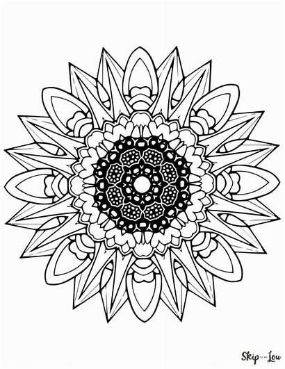 Mandala Coloring Pages Printable Mandalas Colouring Sheets