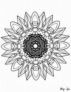 Beautiful Free Mandala Coloring Pages