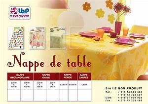 Nappe De Table : nappes et serviettes tunisie ~ Teatrodelosmanantiales.com Idées de Décoration