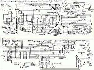 Sch U00e9mas  U00c9lectrique Des Harley-davidson Big Twin  Wiring Diagrams
