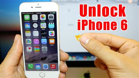 How To Unlock Iphone 6 On Any Ios  At&t, Tmobile, Rogers