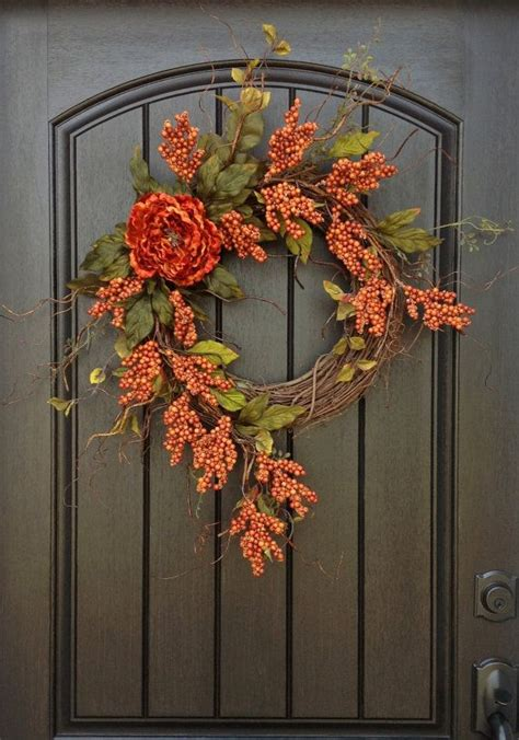 fall wreaths ideas  pinterest thanksgiving
