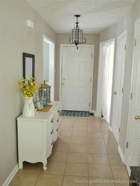 entryway after wheat bread by behr basement