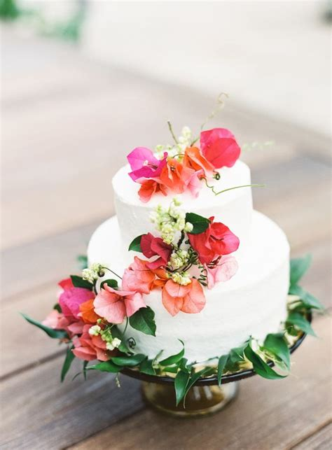 beautiful  yummy tropical wedding cakes weddingomania