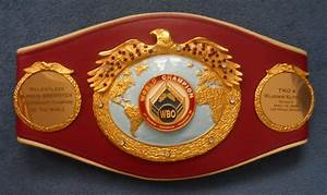 Lamon Brewster39s Previously Owned Original WBO Heavyweight
