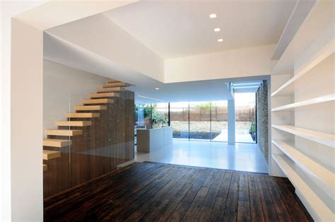 fresh modern house flooring wood flooring stairs glass wall modern home in