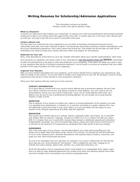 How To Create An Academic Cv by Academic Resume