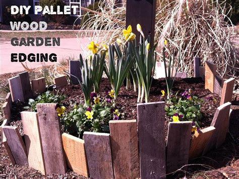 pallet wood garden fence youtube