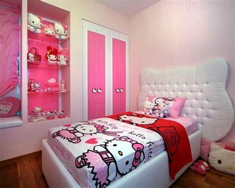 tips to create the most unique and girly hello kitty room