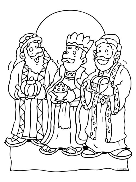 De Drie Wijzen Kleurplaat by Kleurplaat Drie Koningen Kleurplaten Nl