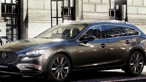 2019 Mazda 6 Wagon Eu Design Exterior A New Frontal