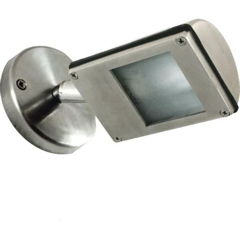 hunza outdoor lighting wall wash spot stainless steel