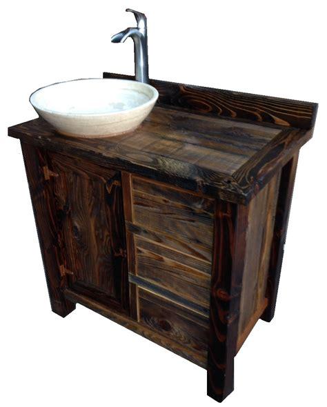 Small Rustic Bathroom Vanity by Rustic Bathroom Vanities