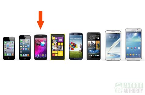 compare phone sizes image gallery mobile phone sizes