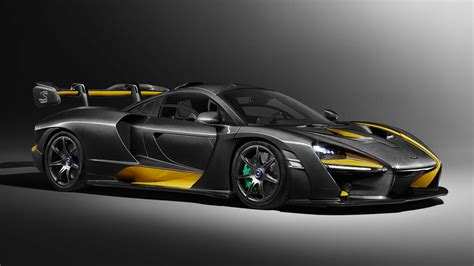 The Mclaren Senna Has A New £300k Carbon Fibre Option