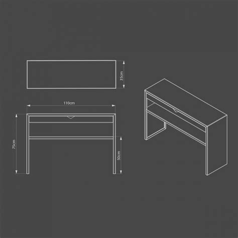 Console Moderne Spirix Avec étagère Zhed  Zendart Design