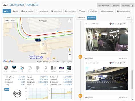Live Tracking Fleet Management System