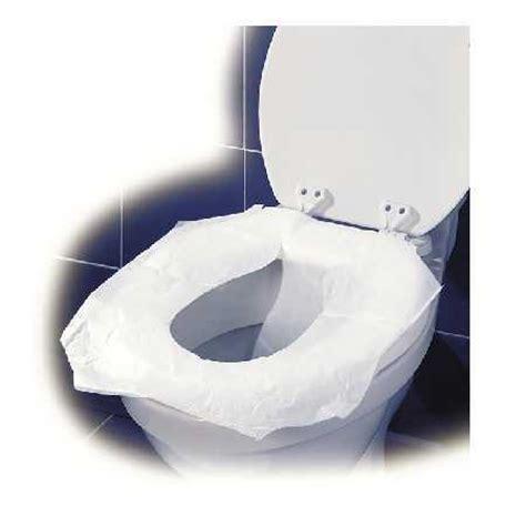 couvre siège papier blanc