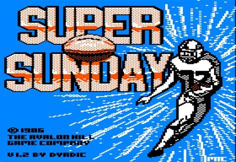Download Super Bowl Sunday My Abandonware