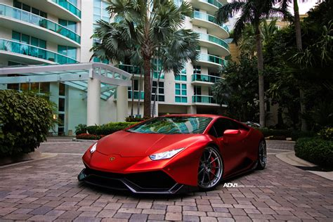 matte red lamborghini huracan   industries kit