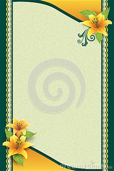 greeting card  flower  ornamental background