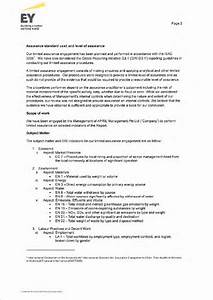 ernst and young resume sample - inspirational letter of assurance cover letter examples