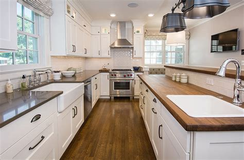 center island kitchen designs updated farmhouse kitchen integrates butler s pantry and