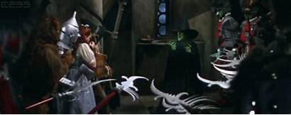 Wizard Oz Melting Witch Halloween Gifs Animated