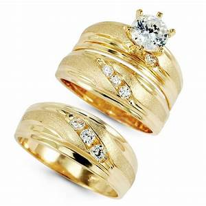 Why should make wedding ring sets for women and also men for Gold wedding ring sets for women