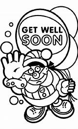 Soon Well Coloring Pages Balloon Crayola Print Cards Daddy sketch template