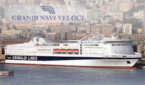 nave la suprema grandi navi veloci quot nave in ritardo per garantire