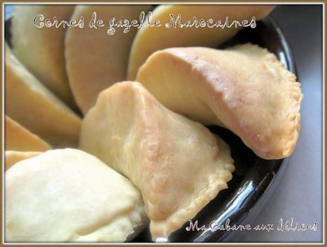 cuisine avec djouza corne de gazelle marocaine kaab legzhal recettes