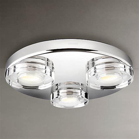 buy philips mira 3 bulb led bathroom light lewis