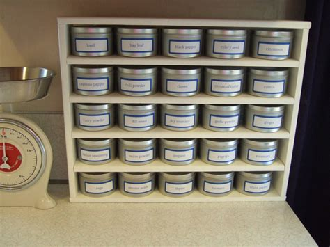 Make Your Own Spice Rack by Spice Rack Crafty Nest