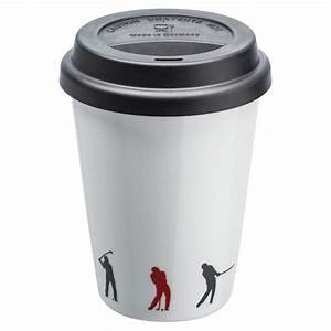 Porzellanbecher To Go : kaffeebecher to go aus porzellan mit golfmotiv ~ Orissabook.com Haus und Dekorationen
